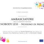Ambasciatori Italiani del network Nobody Less