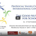 2 online Multiplier Event - The Good Nutrients for Schools - Prosocial Values Project